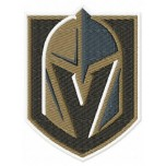 Vegas Golden Knights logo machine embroidery design for instant download