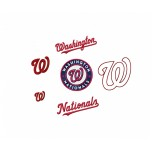 Washington Nationals logos machine Embroidery Design for instant download