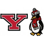 Youngstown State Penguins logos machine embroidery design for instant download