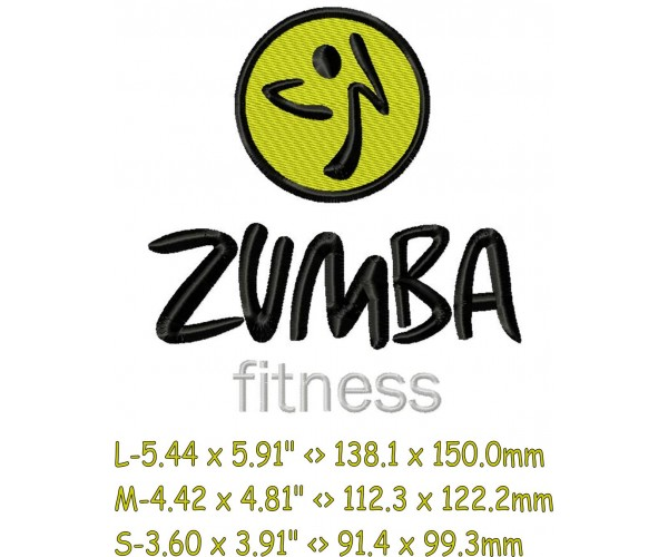 zumba fitness logo machine embroidery design for instant download rh emoembroidery com zumba logo images zumba logo clip art
