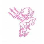 Baby Devil Machine Embroidery Design for instant download
