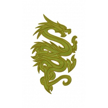 Dragon Machine Embroidery Design for instant download