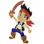 Jake (Jake and the neverland pirates) mashine embroidery design for instant download
