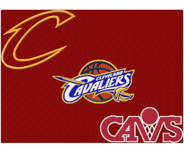 Cleveland Cavalere Home Embroidery Design
